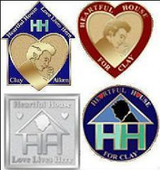 Heartful House Pins
