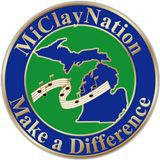 MiClayNation Pin
