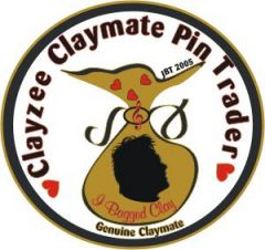 Clayzee Claymate Pin Trader Pin
