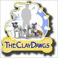 ClayDawgs Pin