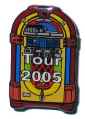 Lighted Jukebox Pin