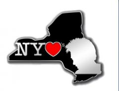 New York Clay Pin