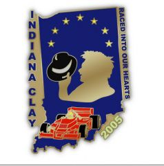 Indiana Clay Pin