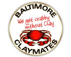 Baltimore Clay Fans Pin