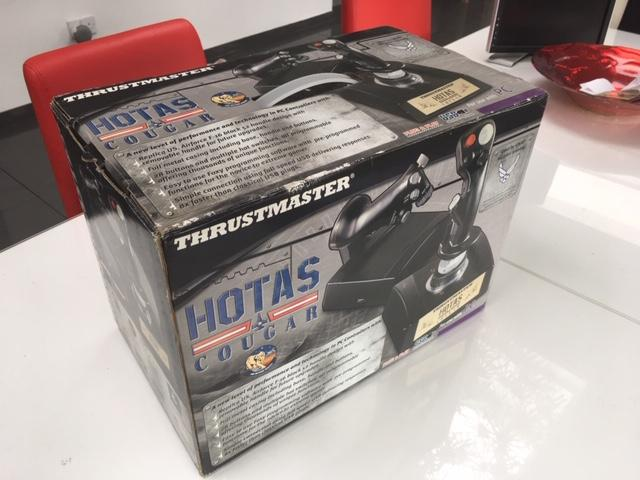 New Thrustmaster Cougar HOTAS for sale on Ebay - Hardware