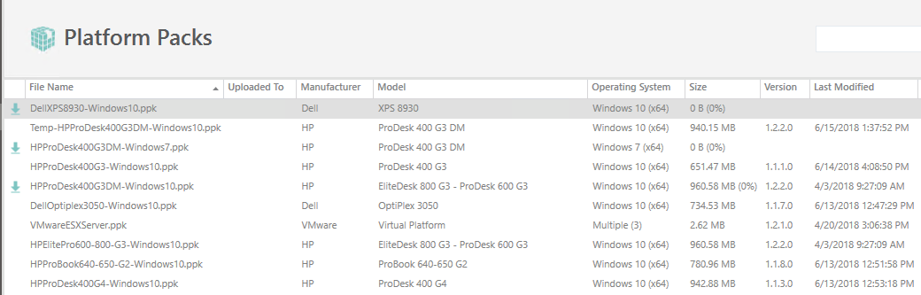 Multiple Driver packages are failing to download and hanging at 0