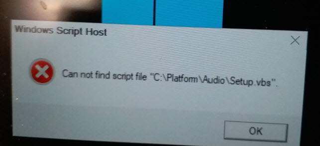 Error message when deploy Windows 10 1803 - General