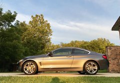 BMW 428iX Side shot
