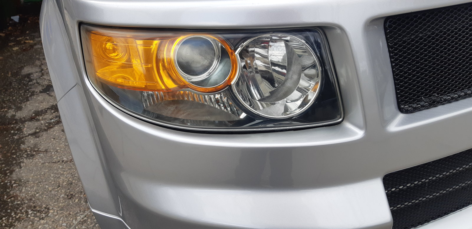 headlights after