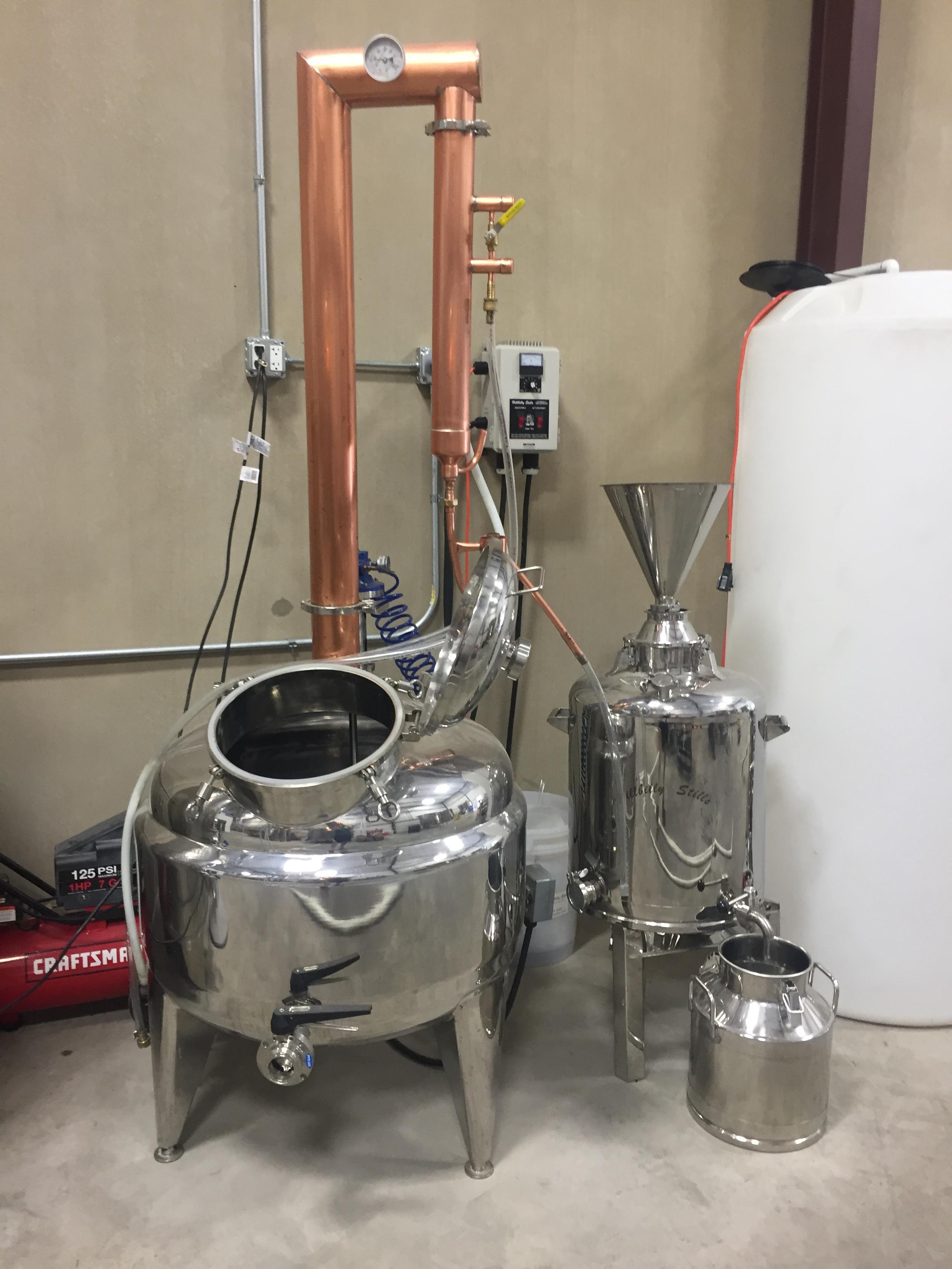 50 gallon used Hillbilly Still for sale - Equipment - ADI Forums