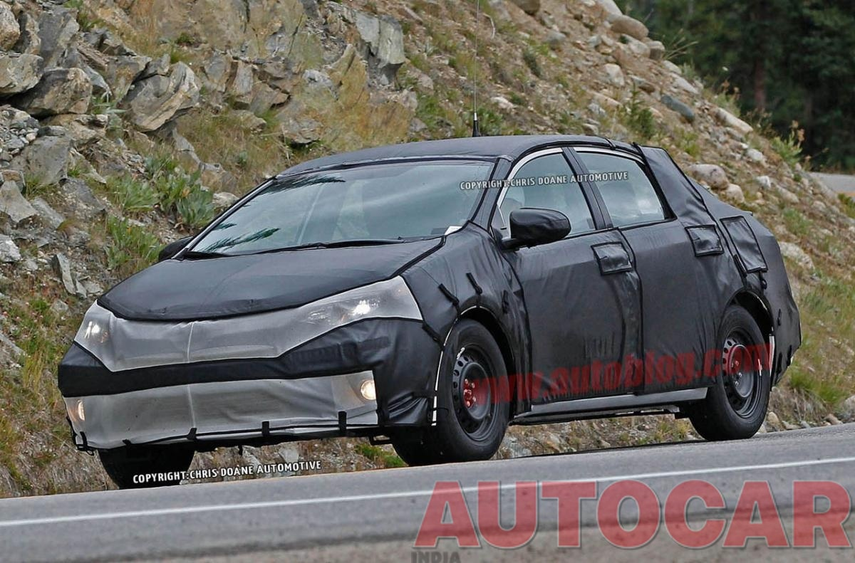 Next-gen Toyota Corolla spy pictures - Indian Cars - Autocar