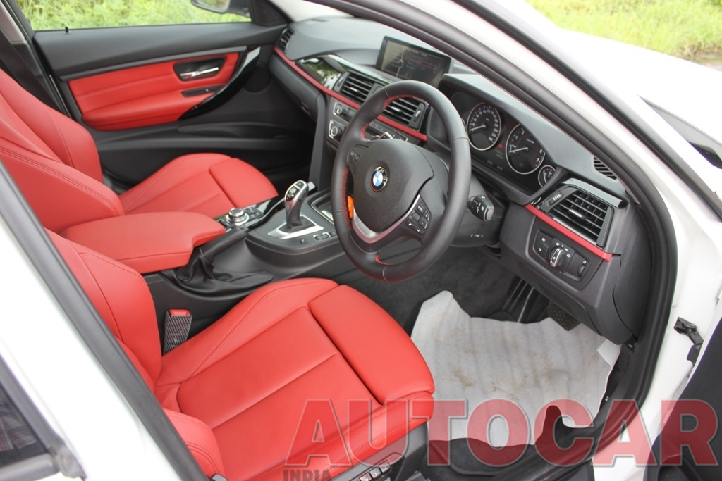 The Ultimat3 F30 Bmw 328i Sportline Alpine White Coral Red Members Car Ownership Reviews Autocar India Forum