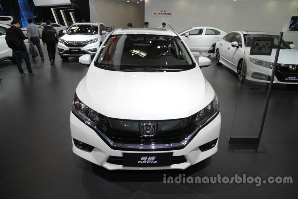 Honda Greiz At 2016 Beijing Motor Show Front.