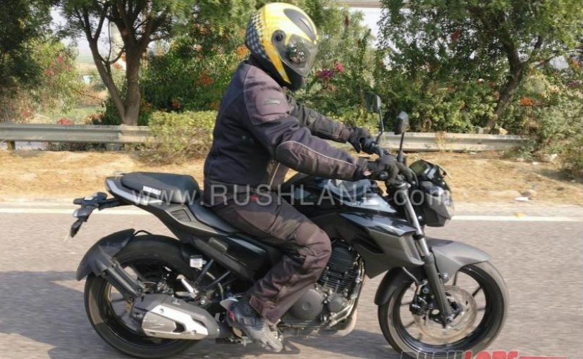 yamaha fz 200 250 spy pics indian bikes autocar india forum