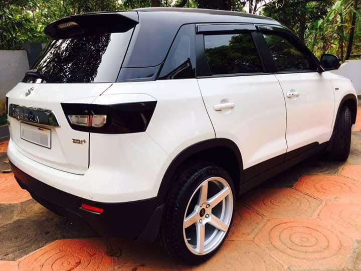 Custom-Maruti-Vitara-Brezza-with-dual-tone-white-and-black-exterior-rear-three-quarter.jpg