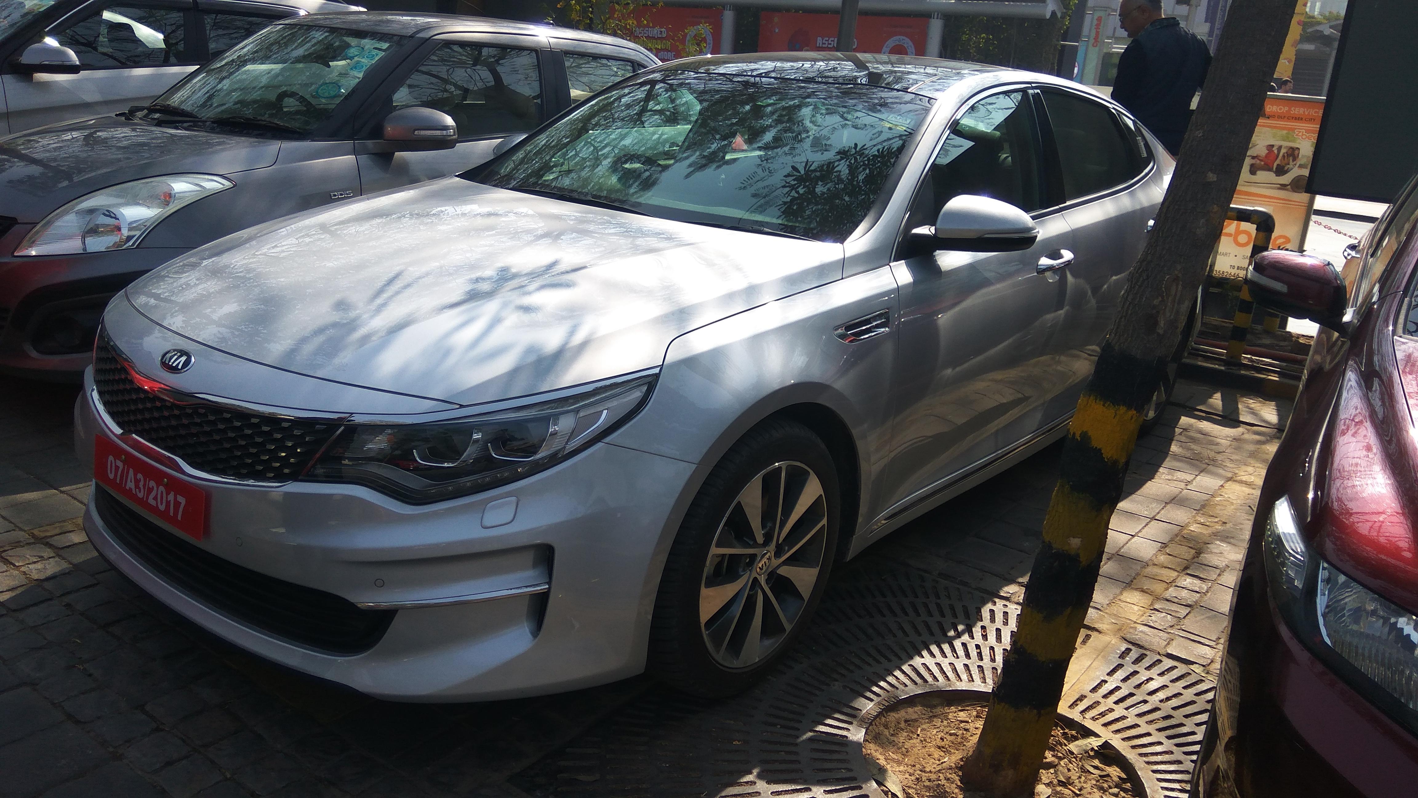 Kia Optima Spotted In India Indian Cars Autocar India Forum