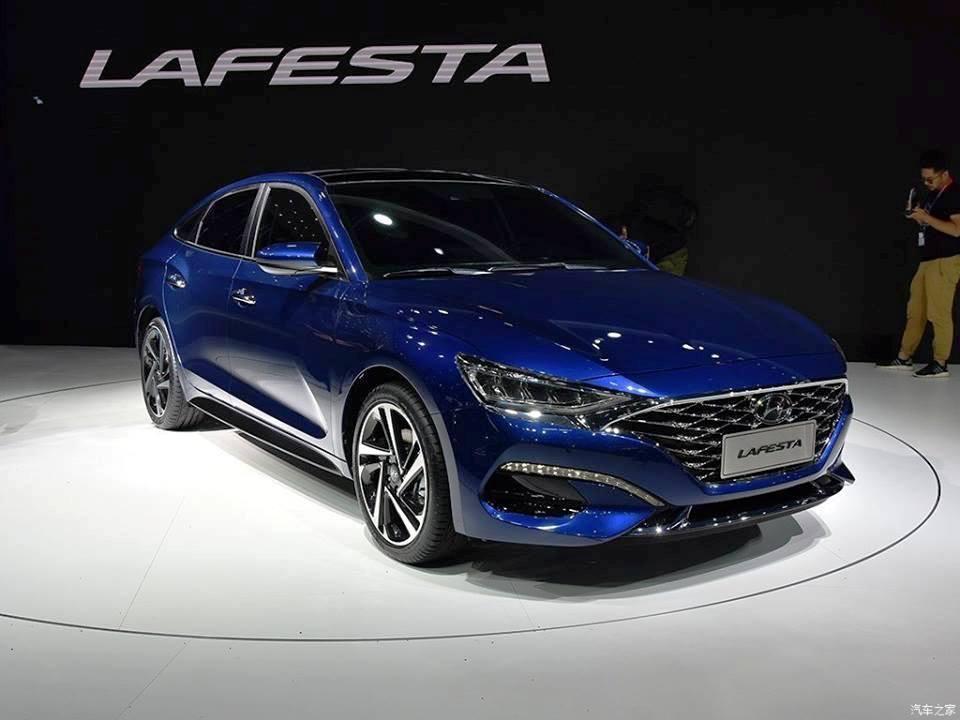 New Hyundai Lafesta images - International Scene - Autocar