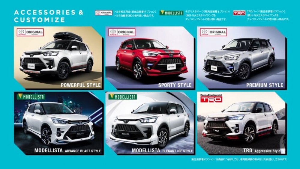 トヨタ RAIZE  TOYOTA RAIZE - Customization Packages.jpg