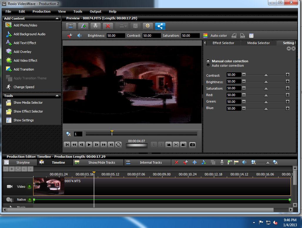 roxio videowave
