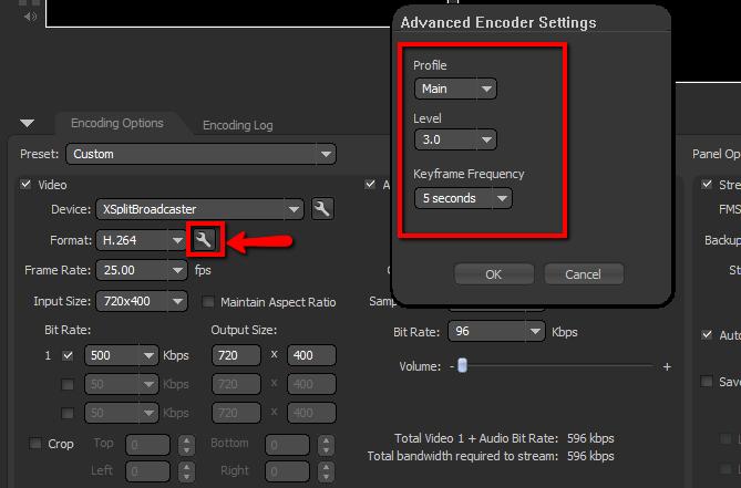 How do i: broadcast a live stream using flash media encoder.