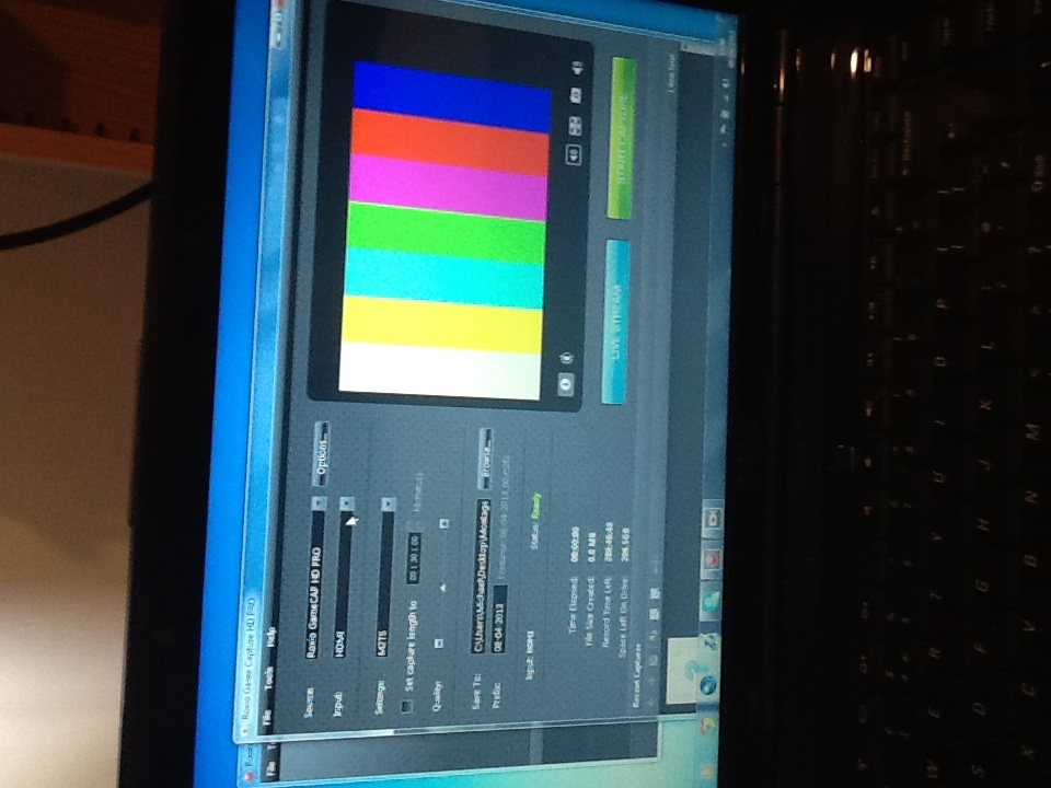 Rainbow Lines On Preview Screen - Capture - Roxio Community
