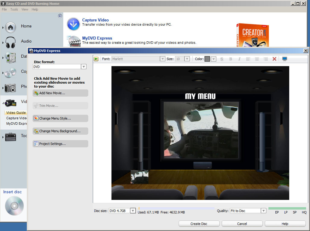 roxio easy media creator 8 windows 7 compatibility