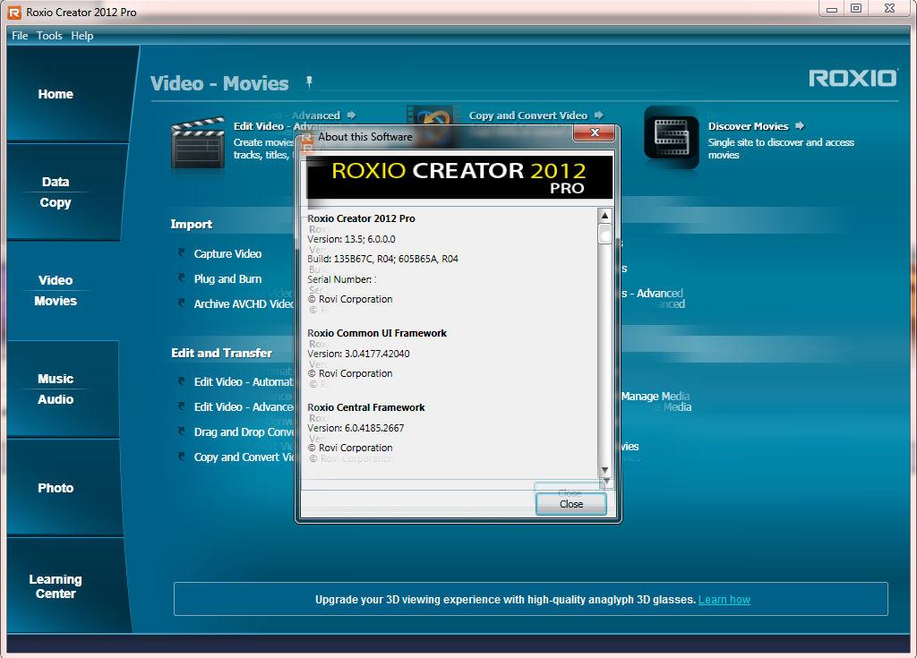 roxio creator nxt pro 5 product key