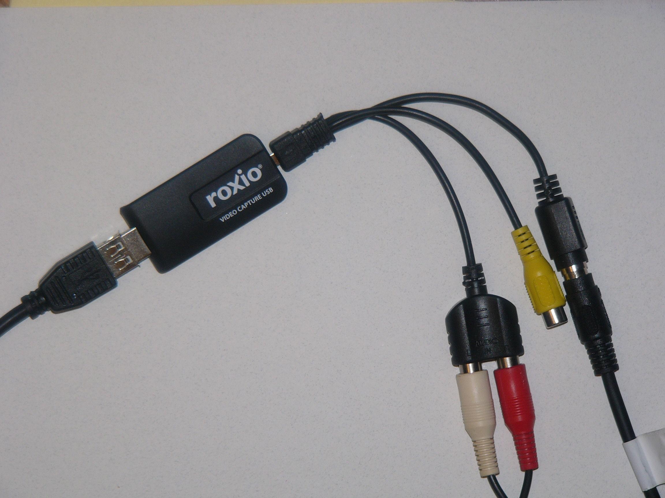 ROXIO USB CAPTURE WINDOWS XP DRIVER