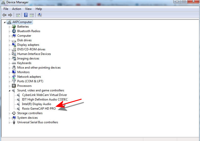 Blue Screen Can't Capture - Capture - Roxio Community
