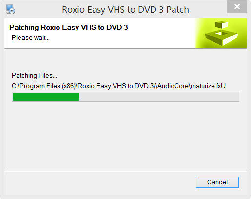 Easy Vhs To Dvd 3 Plus W-10 Update  - Installation/Uninstallation
