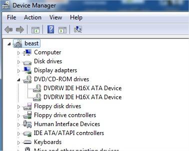 DVDRW IDE H16X ATA DEVICE DRIVERS PC