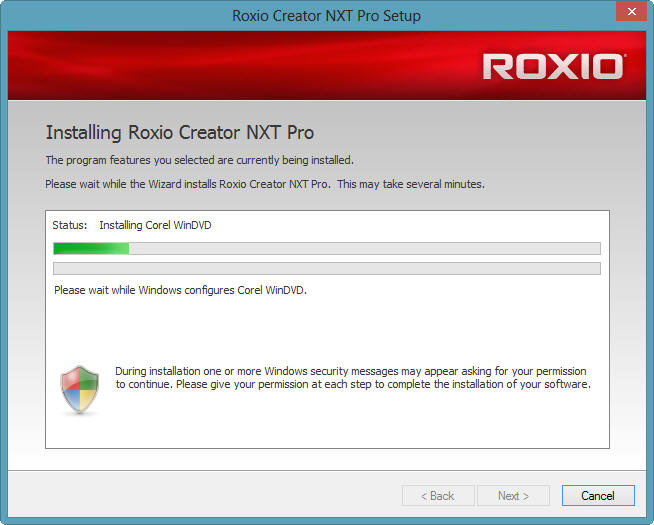 Installing Creator Nxt Pro On W-8 X64 Pro Complete Install