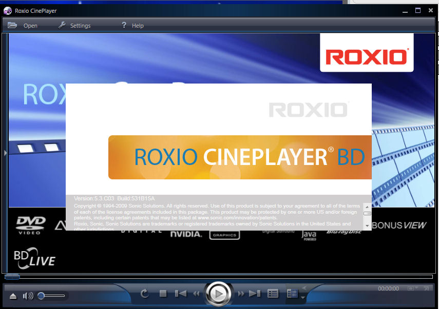 roxio cineplayer bd