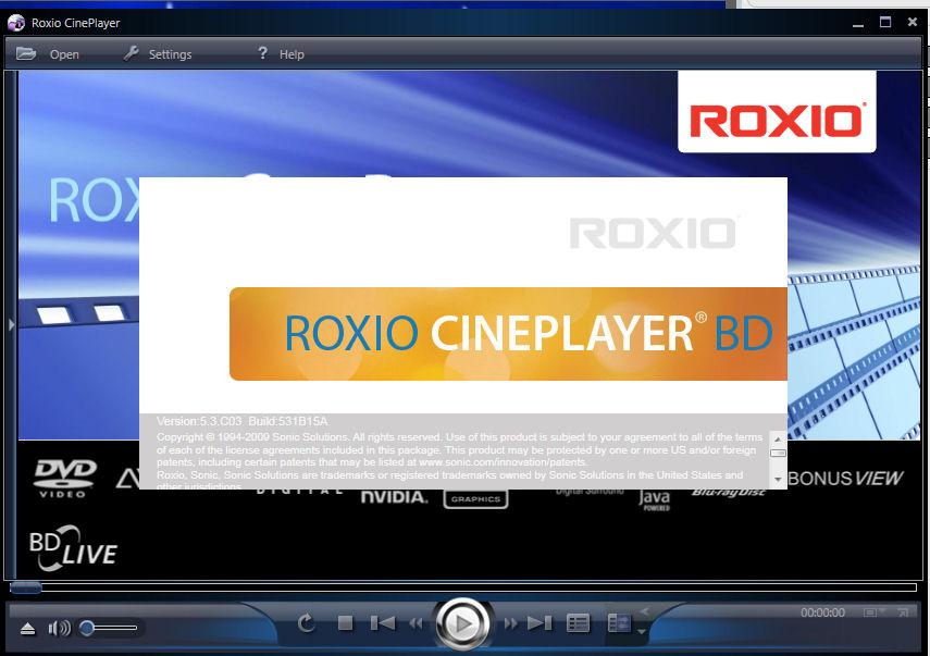 roxio cineplayer hd