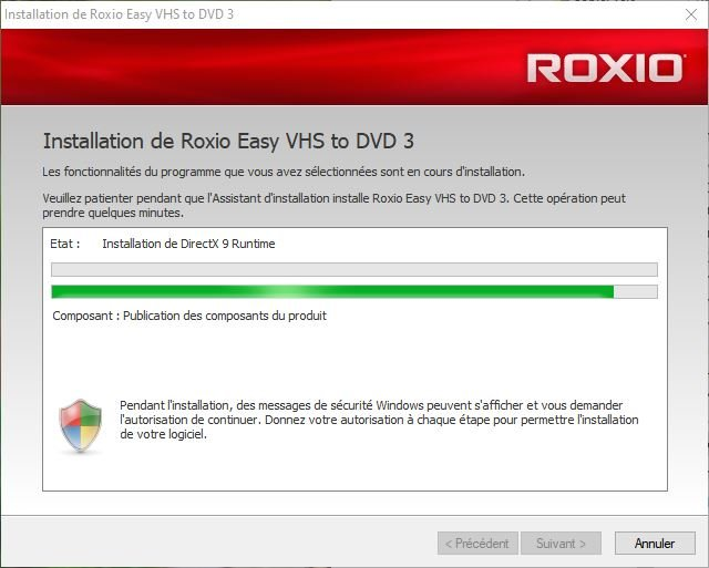 Roxio Continuing Its Installation.JPG