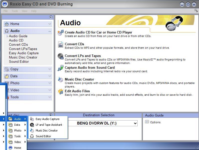 roxio easy cd & dvd creator 6 download