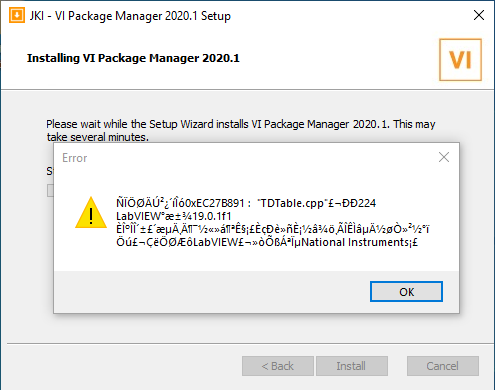 erreur VI package manager.png