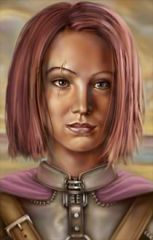 Alternate Imoen Portrait by JPS