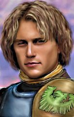 Heath Ledger As Ajantis (first version), by Amaurea