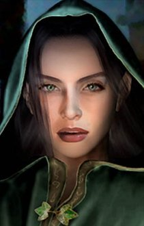 fCast02 (Green Hooded, possibly elven/half-elven)