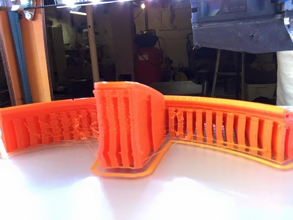 Cura 2 1 2 Support types Which works best? - Cura + plugins