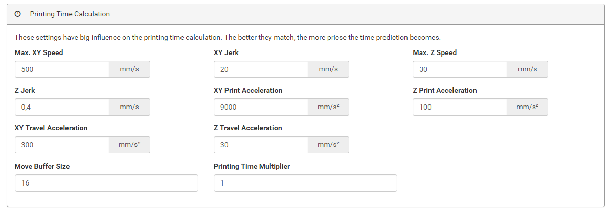 Print acceleration VS travel acceleration - Cura + plugins
