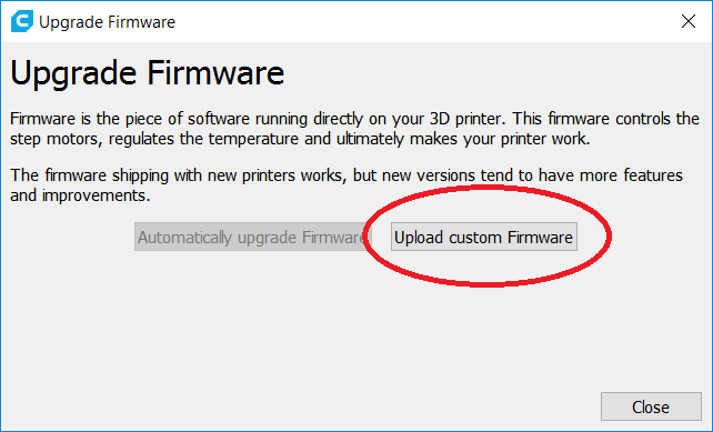 Tinker firmware - introduction - Firmware - Ultimaker