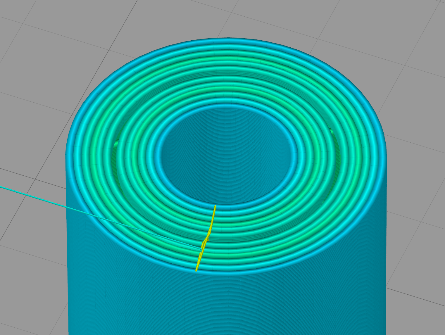 Concentric fill keeps skipping the inner line - Help, Tips