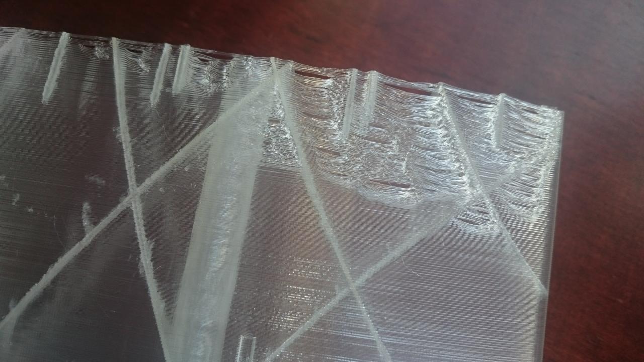 Melting Thin Wall Print Ultimaker 3d Printers