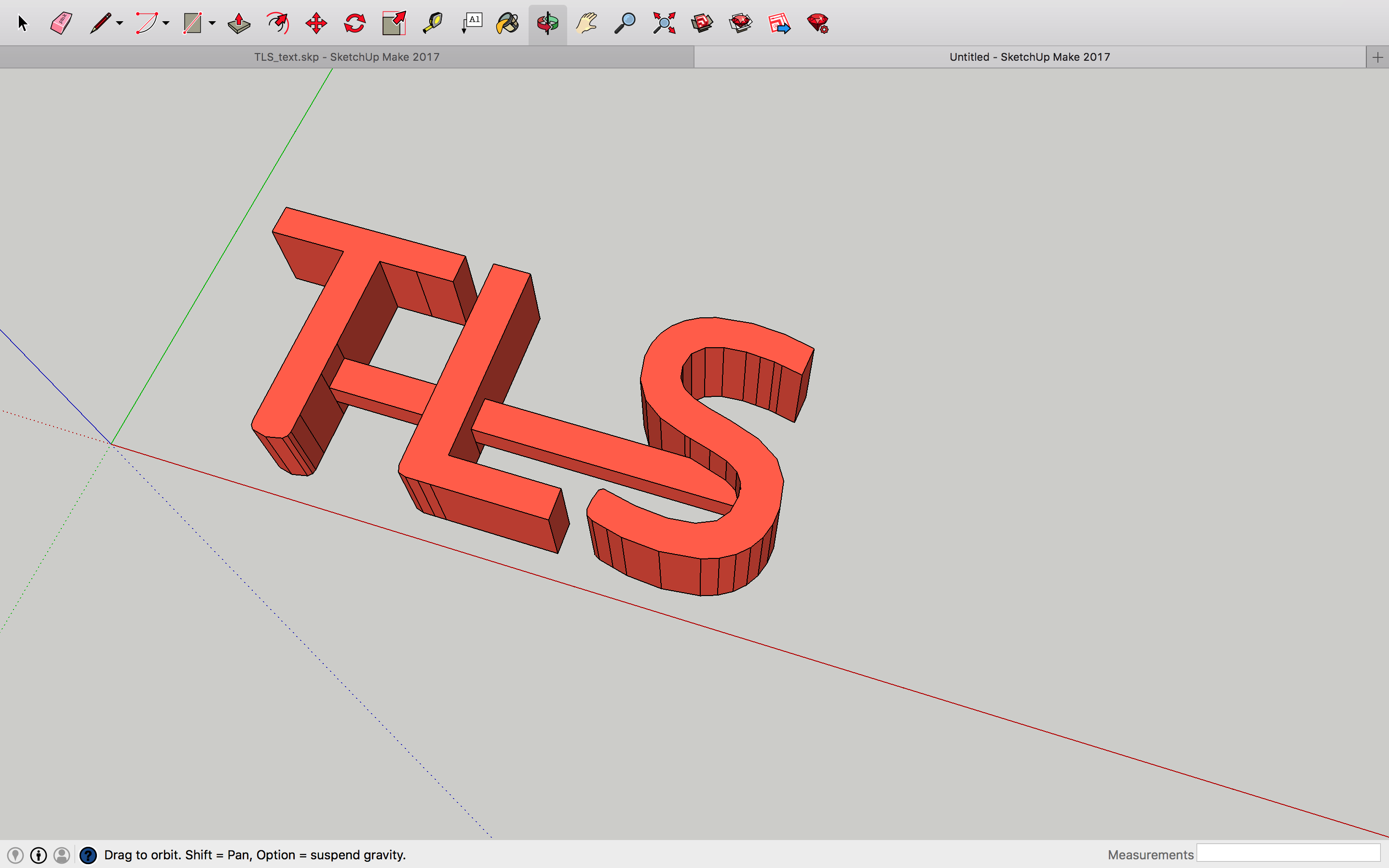 3D Letters losing shape when exported - 3D modeling software