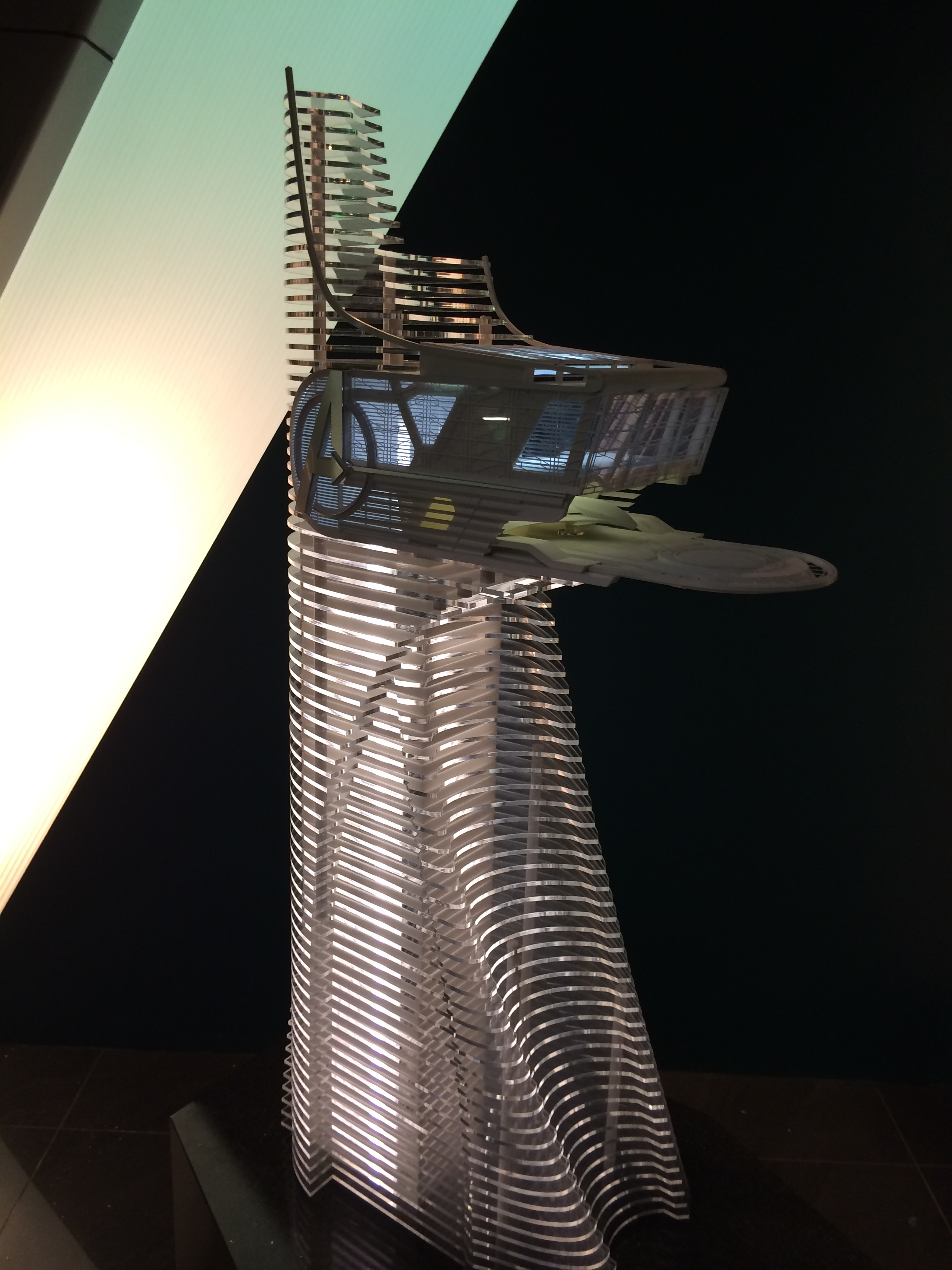 Model Of Stark Towers As Used In Avengers Age Ultron