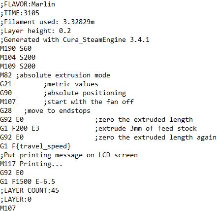 Cura wont set part fan speed properly  - Cura + plugins