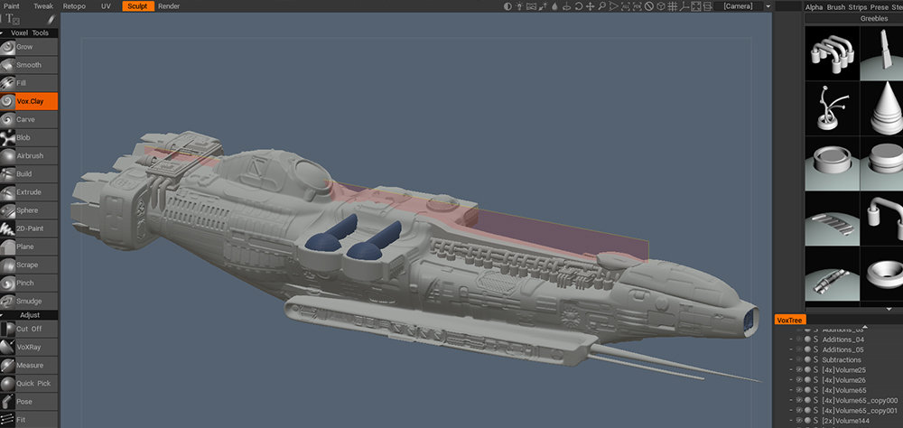 Da Clumsy Noob's Spaceship Modeling Part 1 - Help, Tips