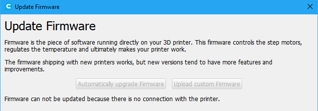 UM2+: Can't install firmware via USB - Firmware - Ultimaker